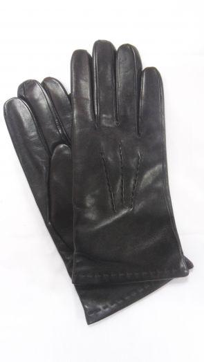 Перчатки зимние кожаные мужские HRAD 1542 black
