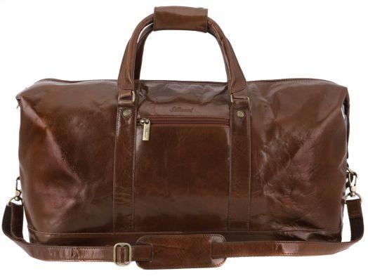 Большая дорожная сумка Ashwood Leather Chelsea 2070 Chestnut Brown
