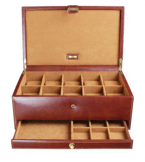 Шкатулка для 10-ти часов, драгоценностей и аксессуаров LC Designs Dulwich - Heritage 70882
