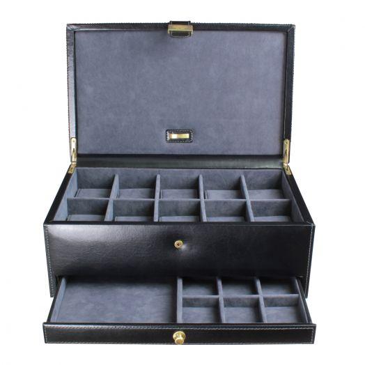 Шкатулка для 10-ти часов, драгоценностей и аксессуаров LC Designs Dulwich - Heritage 70867