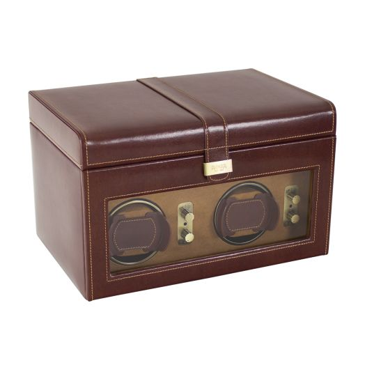 Шкатулка-модуль подзавода двух и хранения пяти часов LC Designs Dulwich - Heritage watch rotators 70884