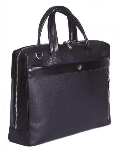 Мужская сумка-портфель NarVin 9752 N.Polo Black